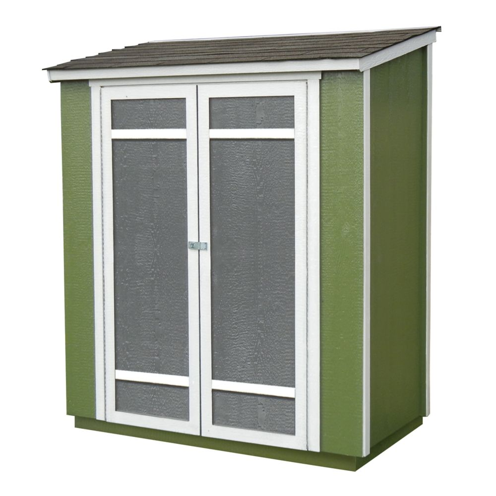 Ocoee Wood Storage Shed (6 Feet x 3 Feet)
