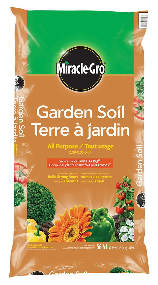 Miracle gro miracle gro garden soil 56 6 l the home - Home depot miracle gro garden soil ...