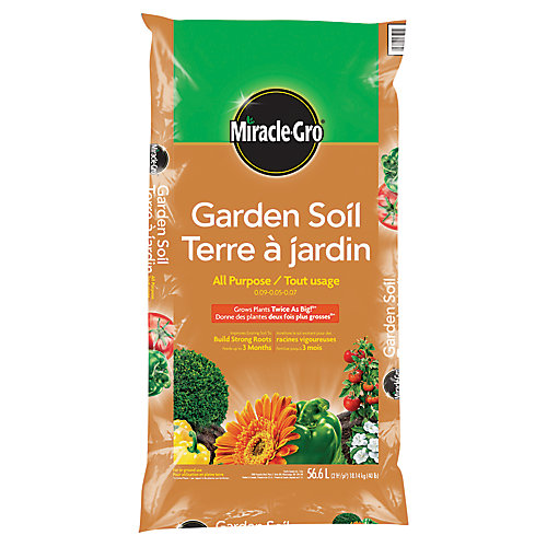 Terre à jardin tout usage Miracle-Gro, 56,6 L