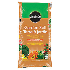 Top soil the home depot canada - Home depot miracle gro garden soil ...