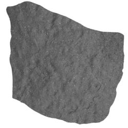 Multy Home 18-inch x 18-inch Natural Stepping Stone in Grey