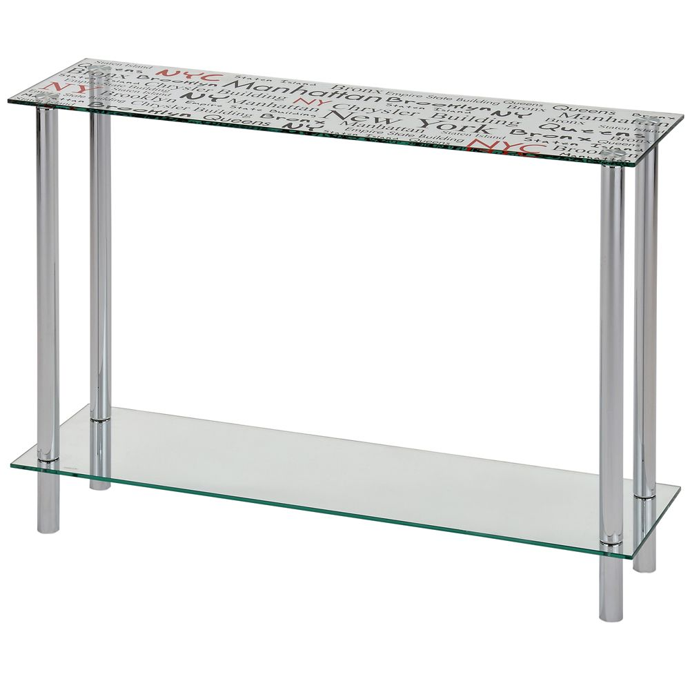 Soho-Console Table-Chrome