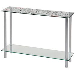 !nspire Soho-Console Table-Chrome