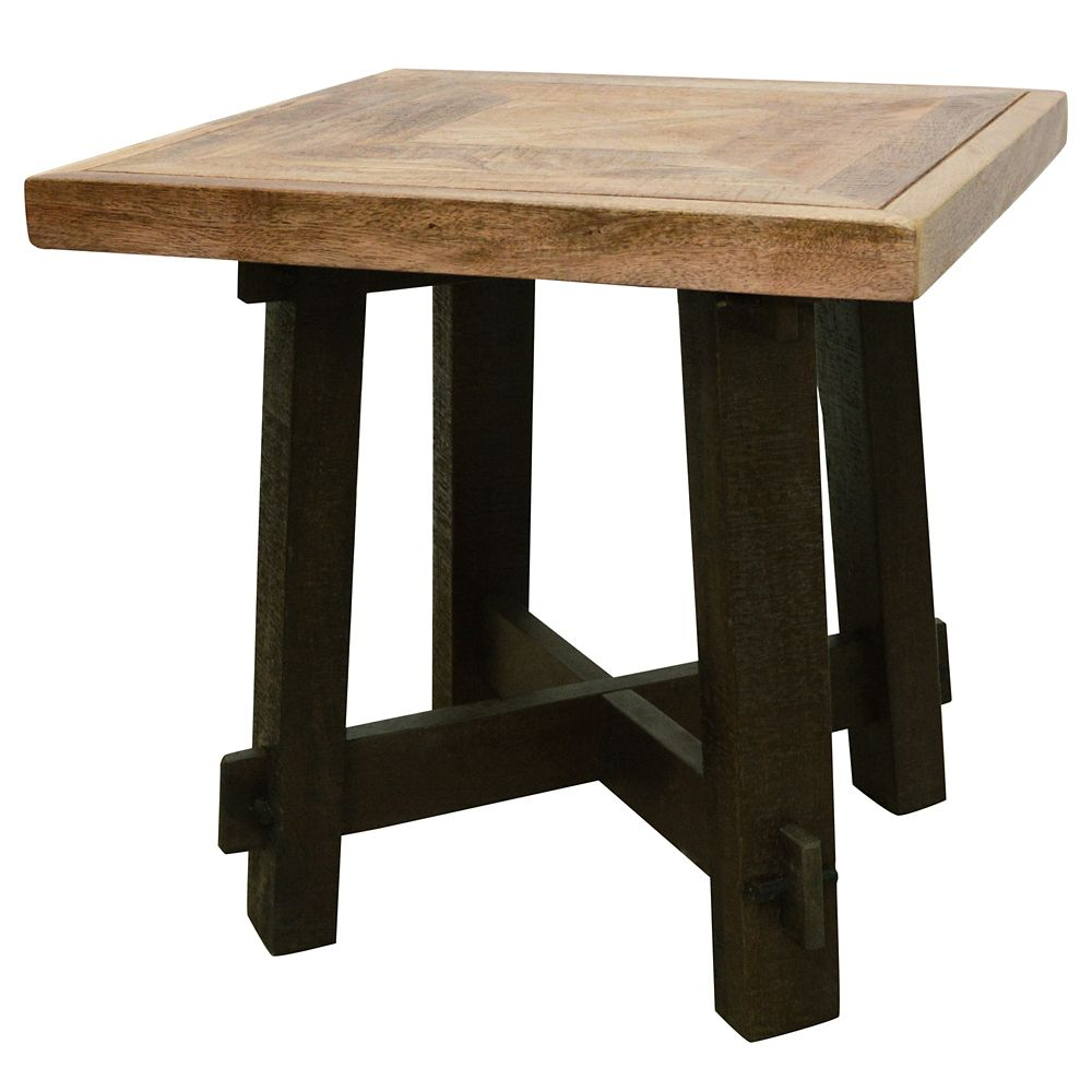 Yukon-Accent Table-Dark Walnut