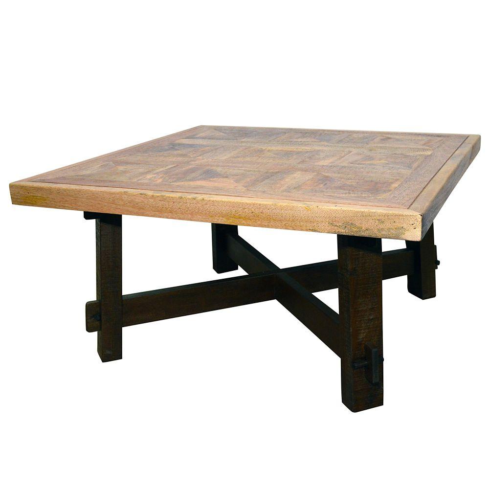 Table d'appoint Yukon - noyer foncé