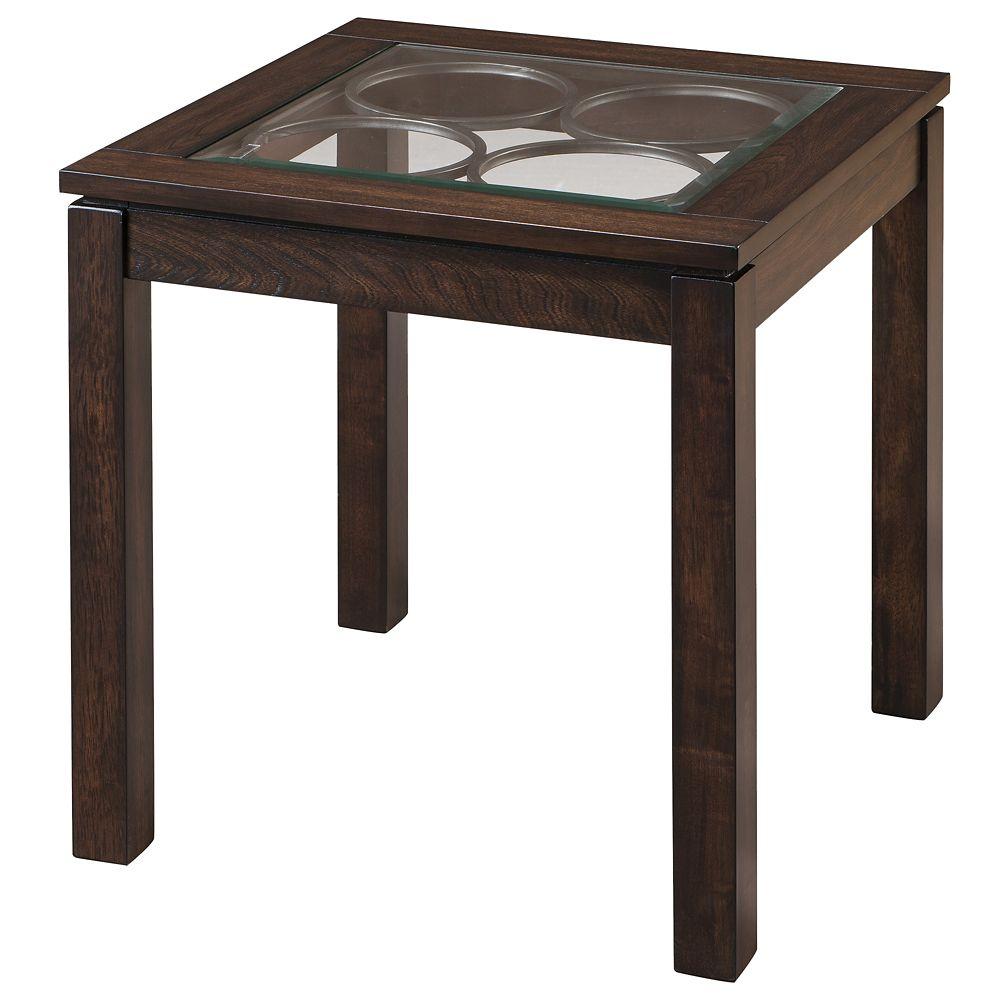 Circa-Accent Table-Dark Oak 501-946 in Canada
