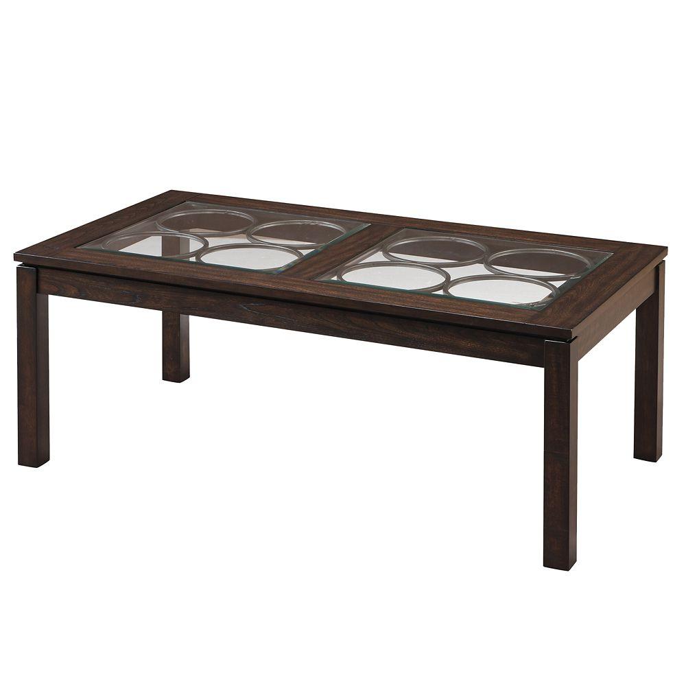 Table basse Circa - chêne foncé