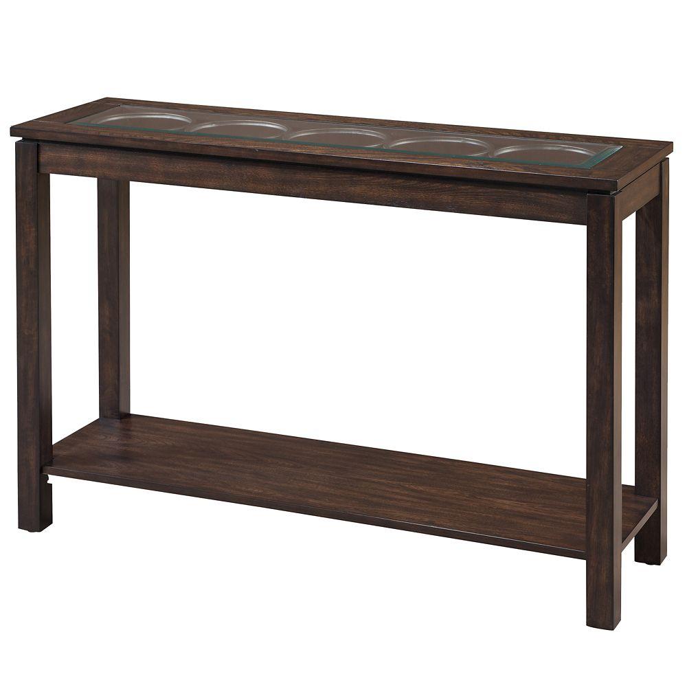 Circa-Console Table-Dark Oak 502-946 Canada Discount