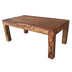Table basse Idris - sheesham foncé