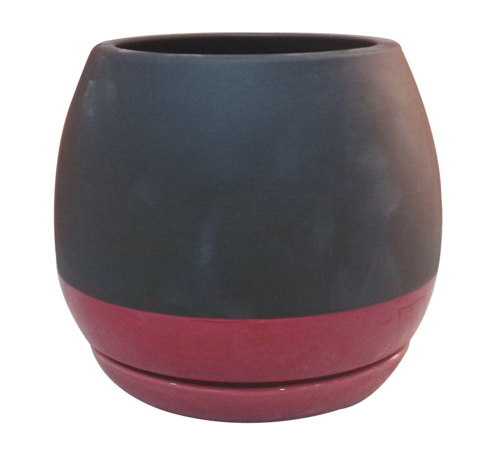 Orbital, ardoise et rouge de 15.24 cm
