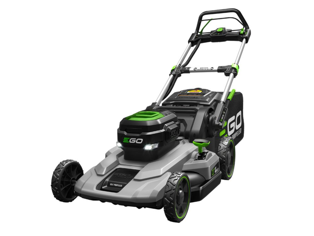 EGO 21-inch 56V Lithium-Ion Cordless Battery Self Propelled Mower with 7.5Ah Battery and Charger Included LM2102SP