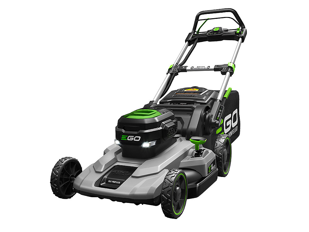 21-inch 56V Lithium-Ion Cordless Battery Self Propelled Mower with 7.5Ah Battery and Charger Included
