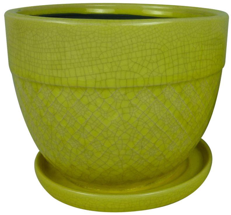 6 Inch.  Acorn Bell (Yellow)