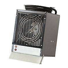 Enclosed Motor Construction Heater, Grey