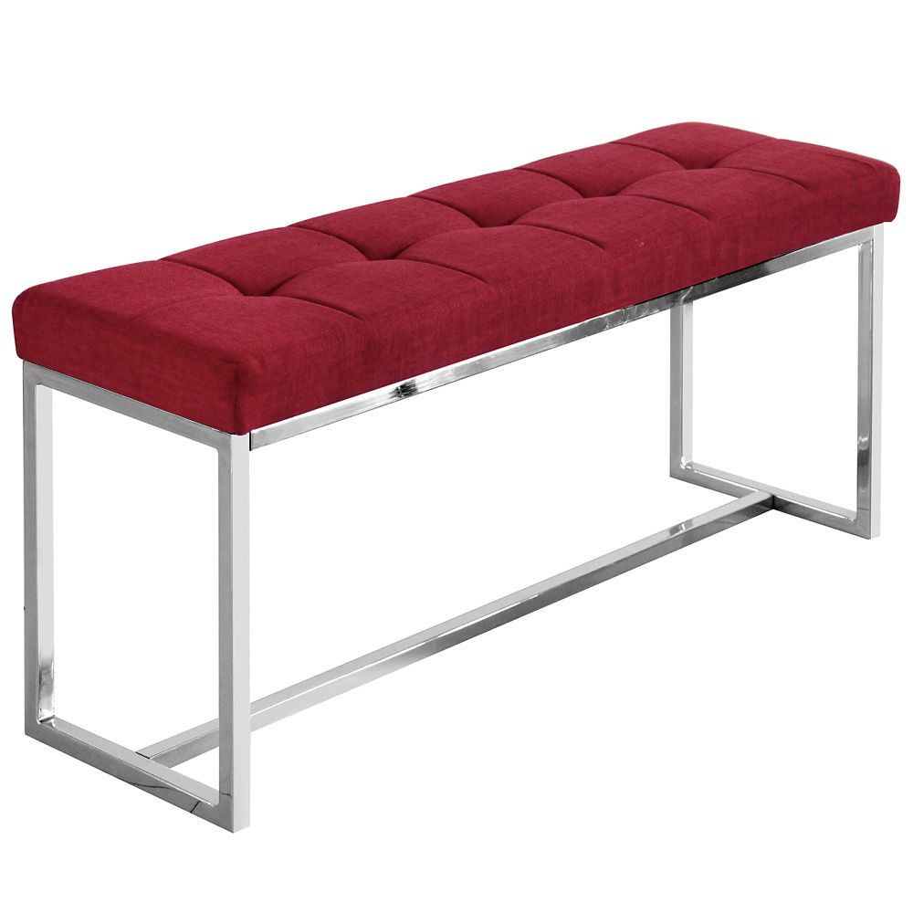 Vibes banc double-rouge
