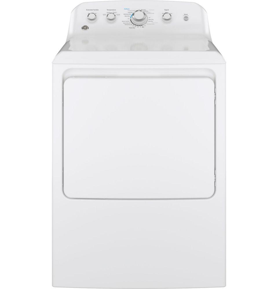 7.0 cu. ft. Gas Dryer in White