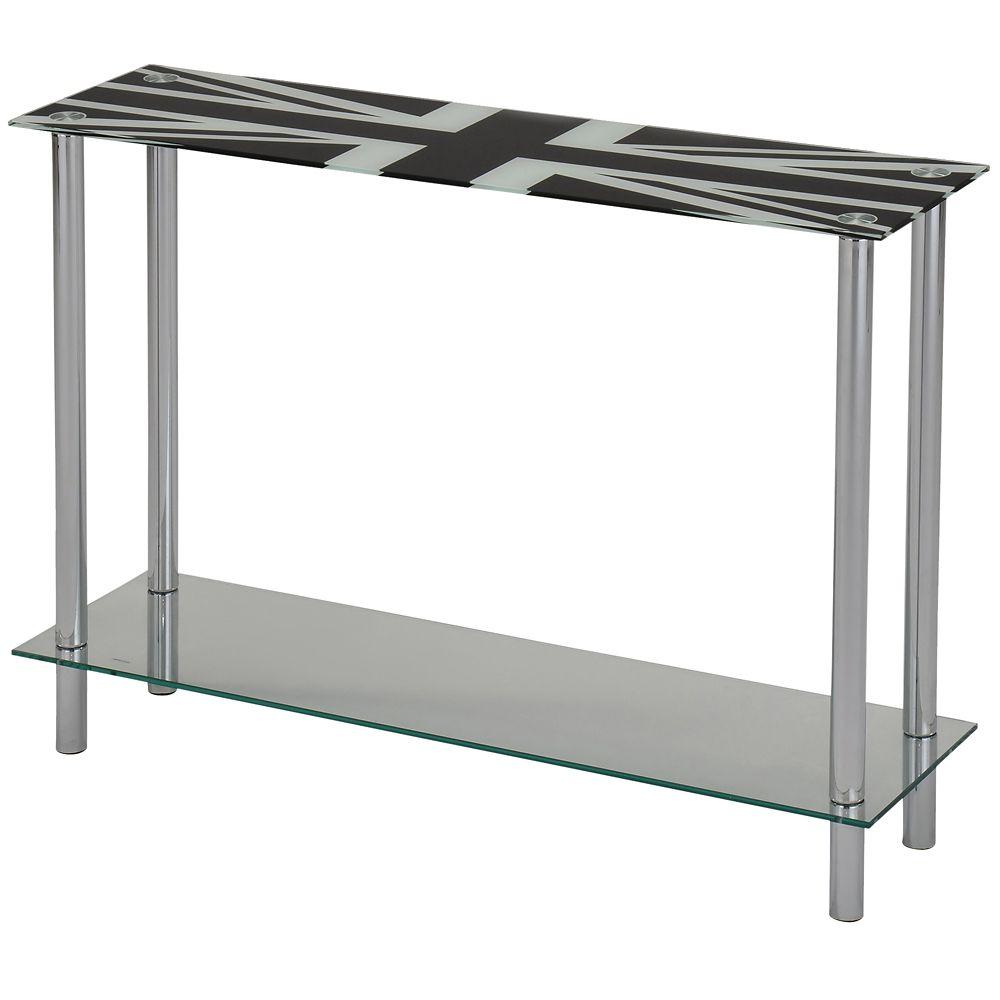 London-Console Table-Chrome