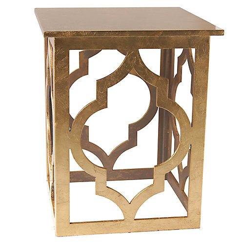 Marrakesh-Accent Table-Gold