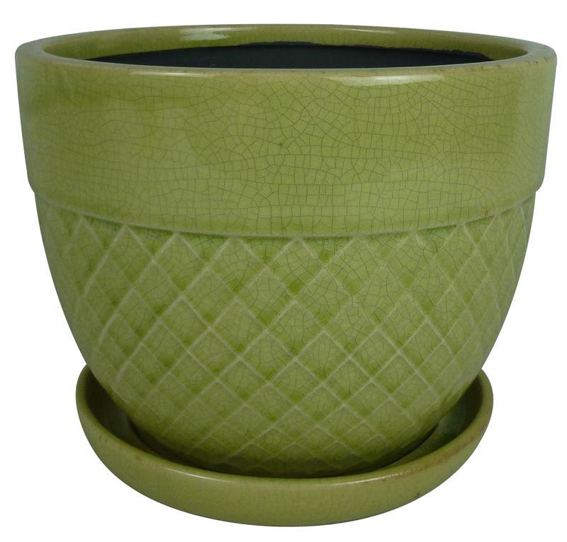 6 Inch.  Acorn Bell (Green)