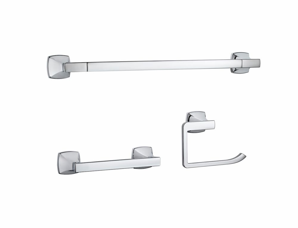 Bath Accessory Kit In Polished Chrome