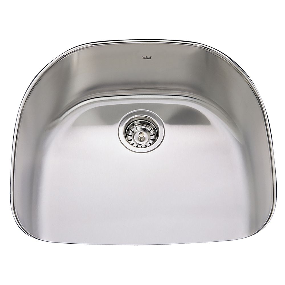 "Single UM 20 Ga sink - 20-7/8"" X 23-3/8"" X 8"""
