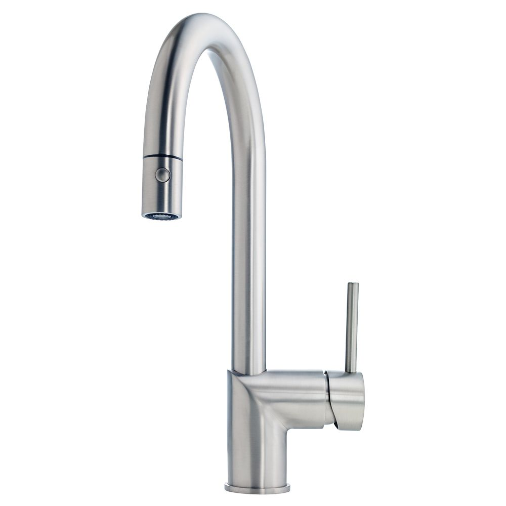 Kindred Gooseneck pull down faucet SN