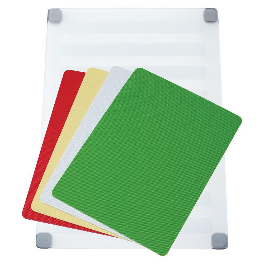 Frosted Glass Board with cut mats