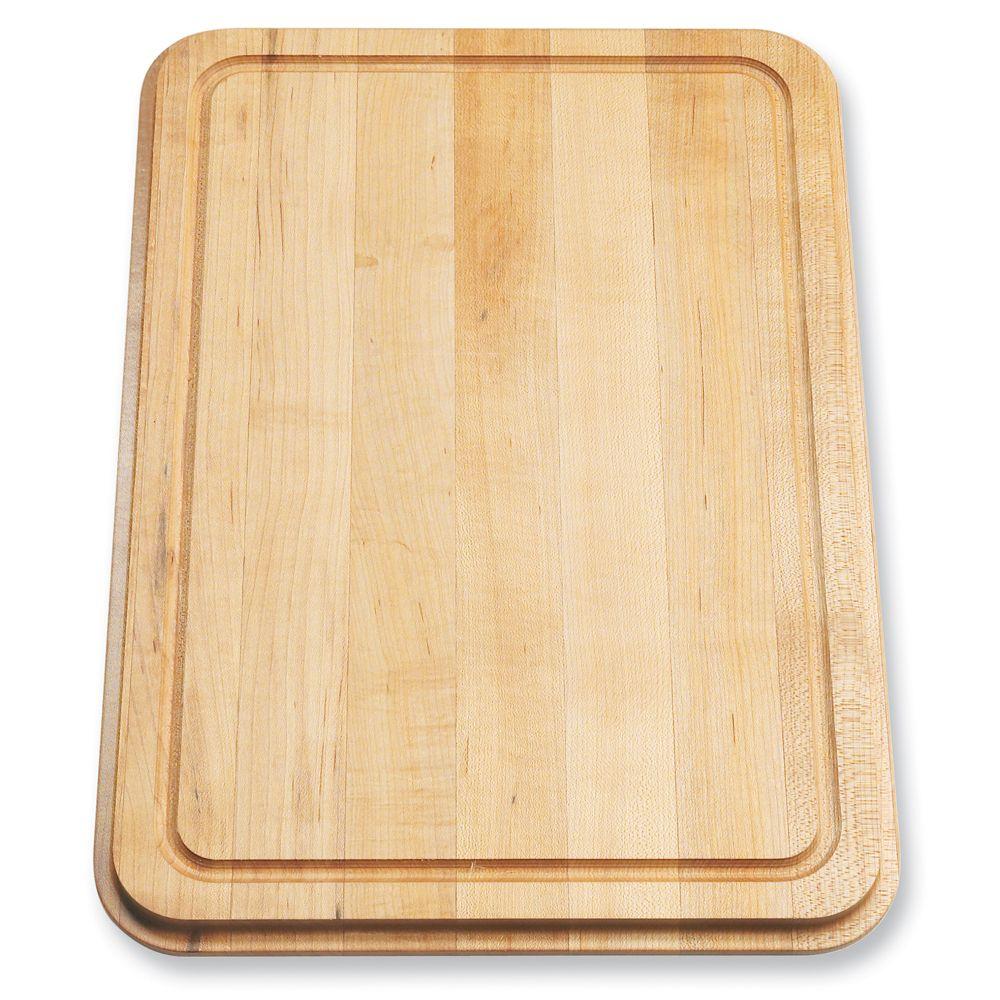 "Maple Cutting Board - 16-7/16"" X 11-11/16"" X 1"""
