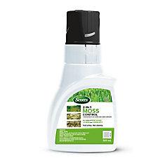 Destructeur de mousse 2 en 1 pour la pelouse et les surfaces dures Scotts ®  500 mL – Concentré