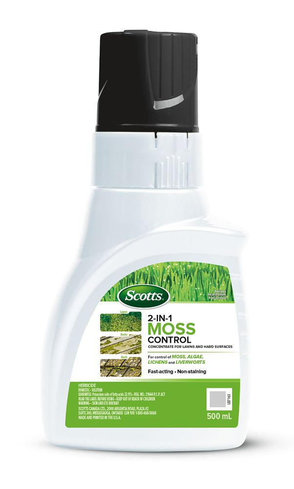 Scotts 2 IN 1 Moss Control 500ML