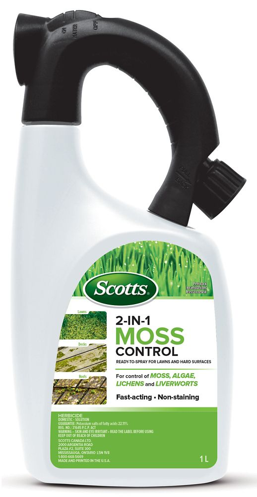 Scotts 2 IN 1 Moss Control 1 L RTS