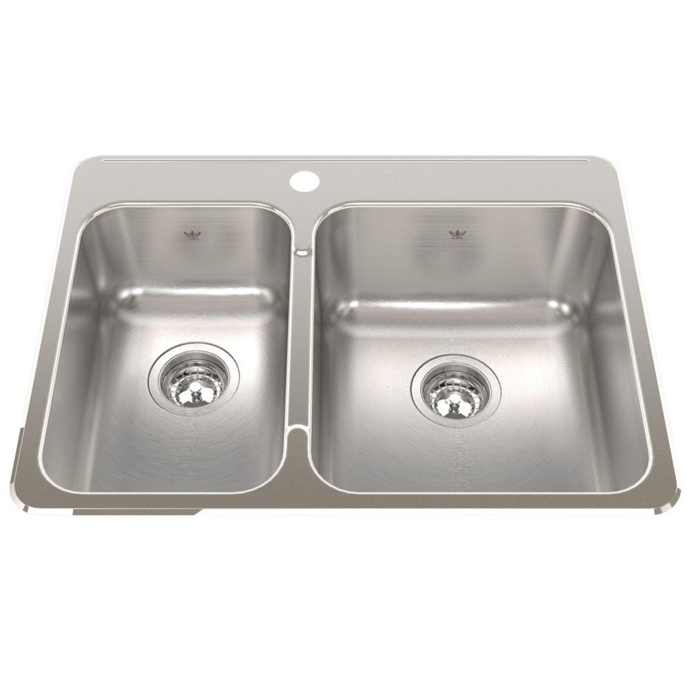 Discount Sinks Kitchen Topmount