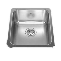 "Kindred Single sink 20 Ga - 18-1/8"" X 16-1/8"" X 8"""