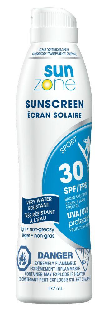 Sunscreen Sport SPF30 Spray 177ml