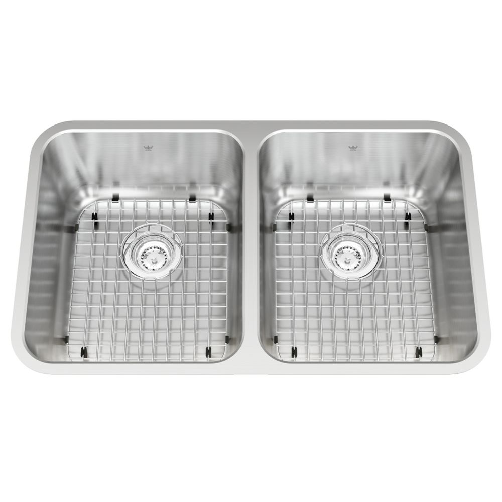Kitchen Sink Discount : Double UM Sink 18 Ga Sink KSD2UA/9D Canada Discount