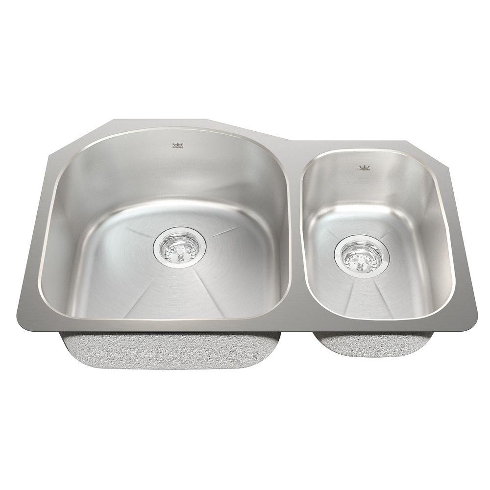 Combination 18 Ga sink