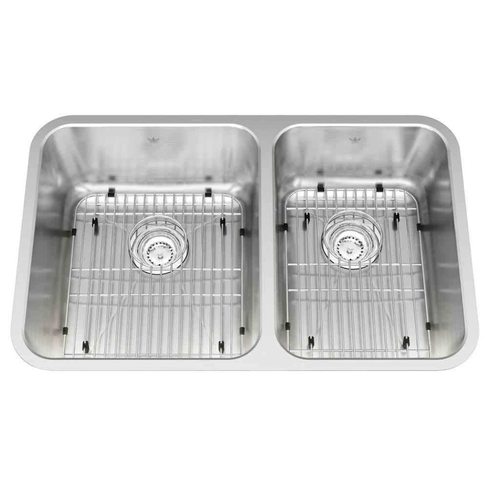 Combination 18 Ga Sink KSC2RUA/9D Canada Discount