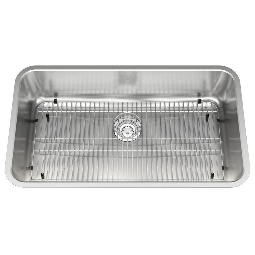 Single UM sink 18 gauge sink