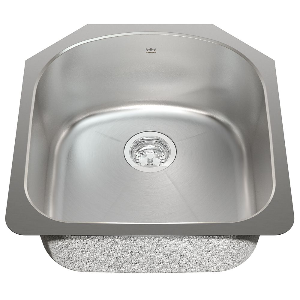 Kindred Single UM sink 18 gauge sink