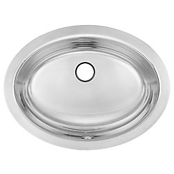 "Kindred 18 Ga UM handwash basin - 13-3/8"" X 17-7/8"" X 7"""
