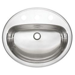 Kindred 18 Ga drop-in basin