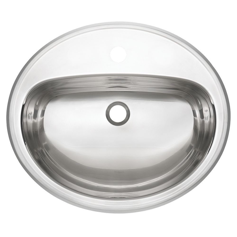 18 Ga drop-in basin