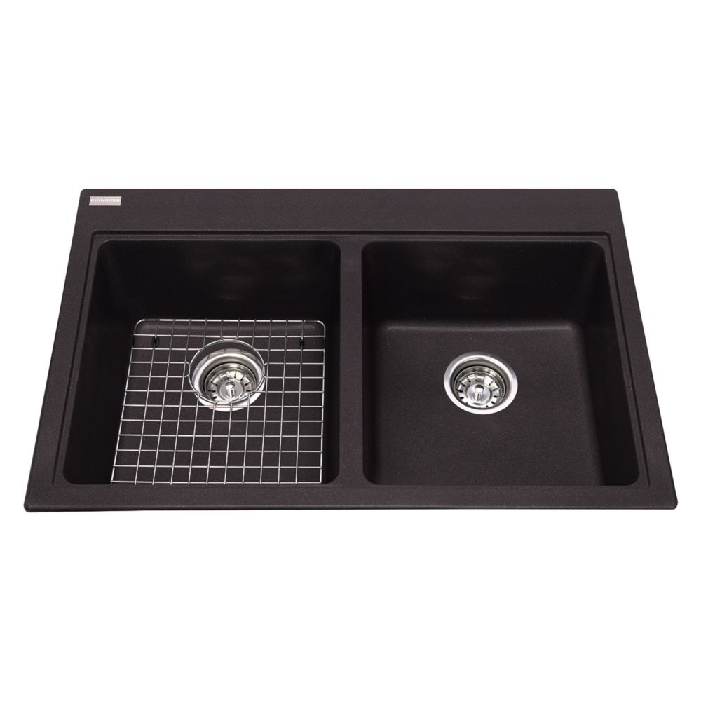 Kindred Double sink Espresso
