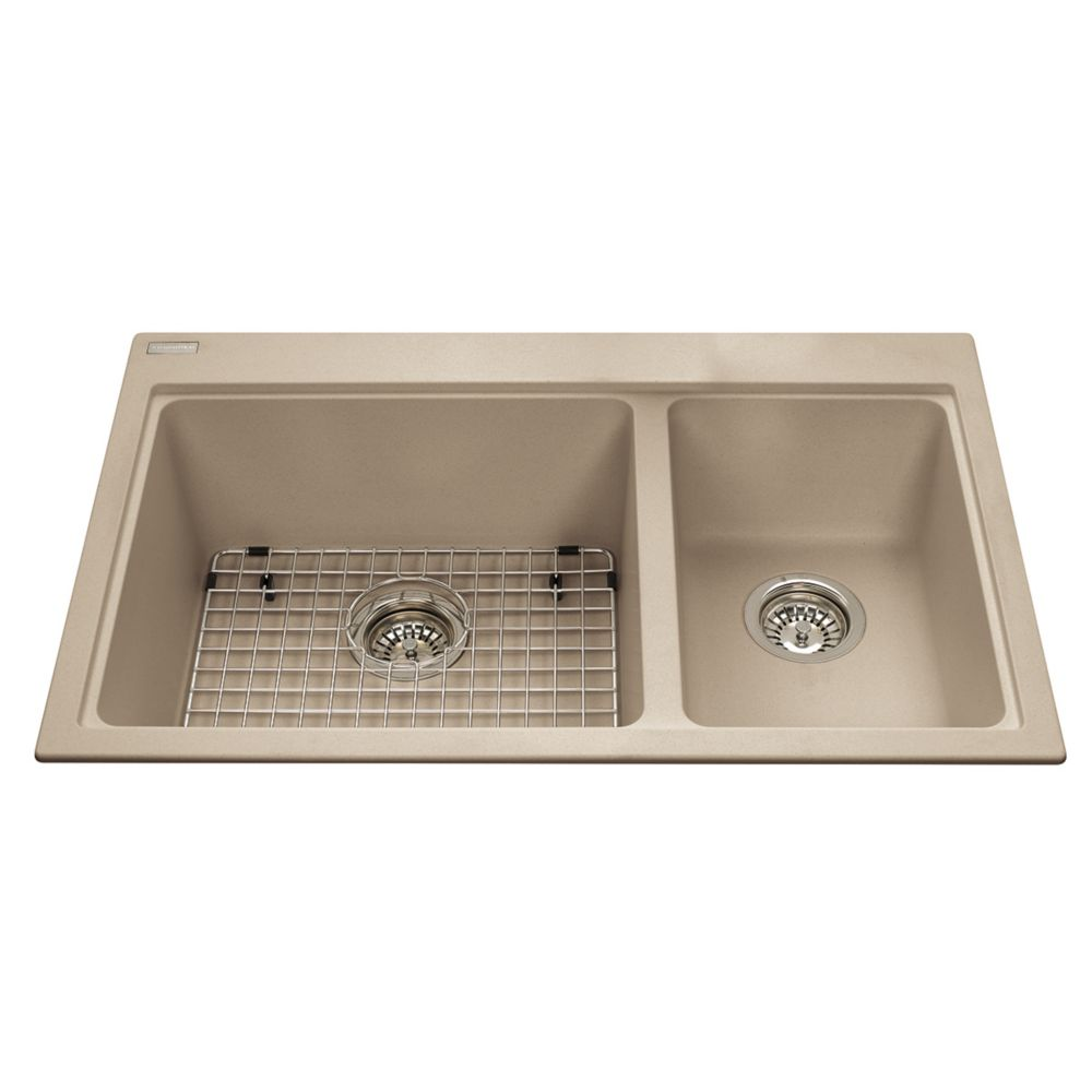 Combination Sink Champagne