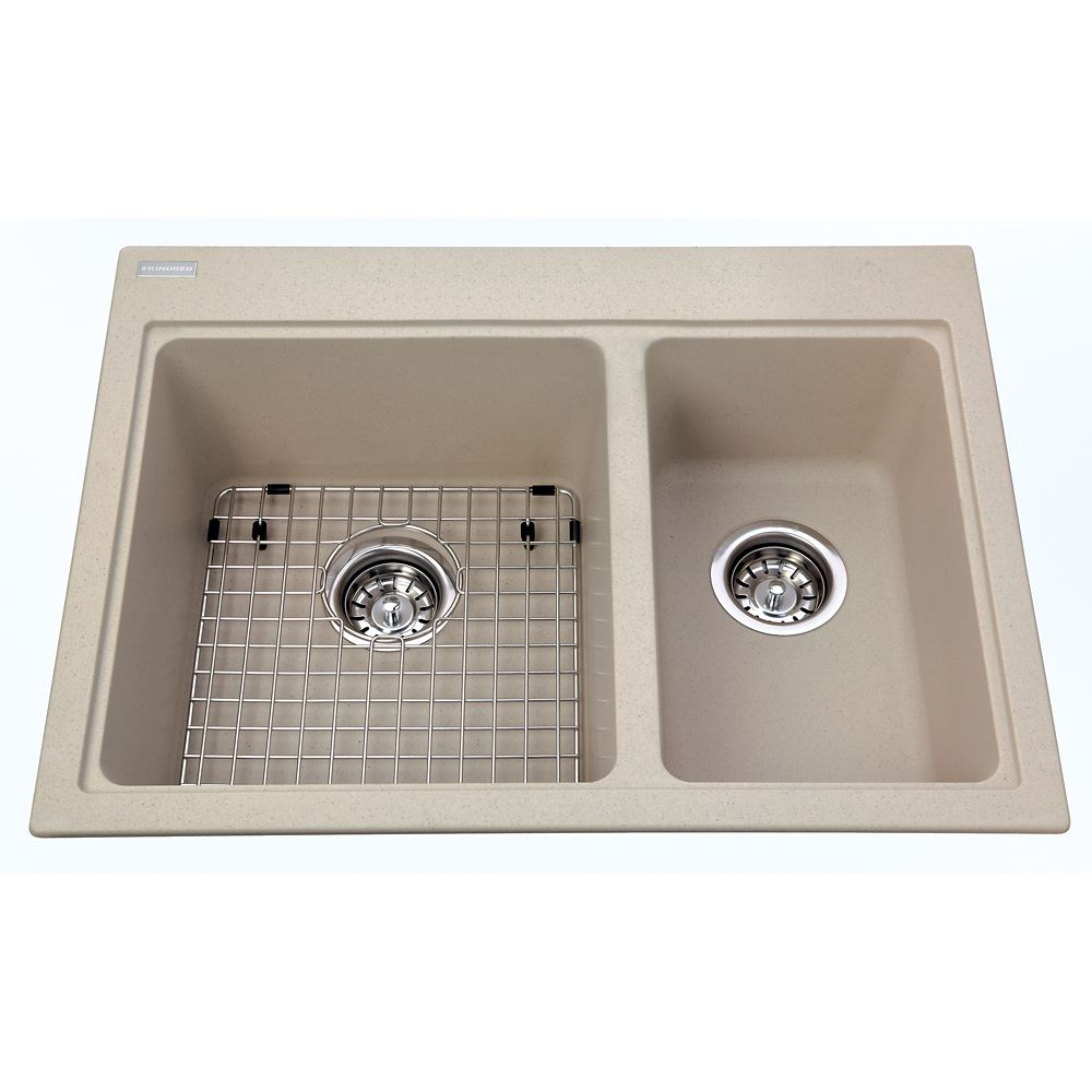Combination Sink Oyster KGDC2027R/8OS Canada Discount