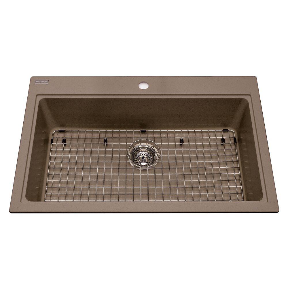 Kindred Single sink Oyster