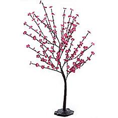 4 feet Pink Decorative Blossom Tree 120 volt