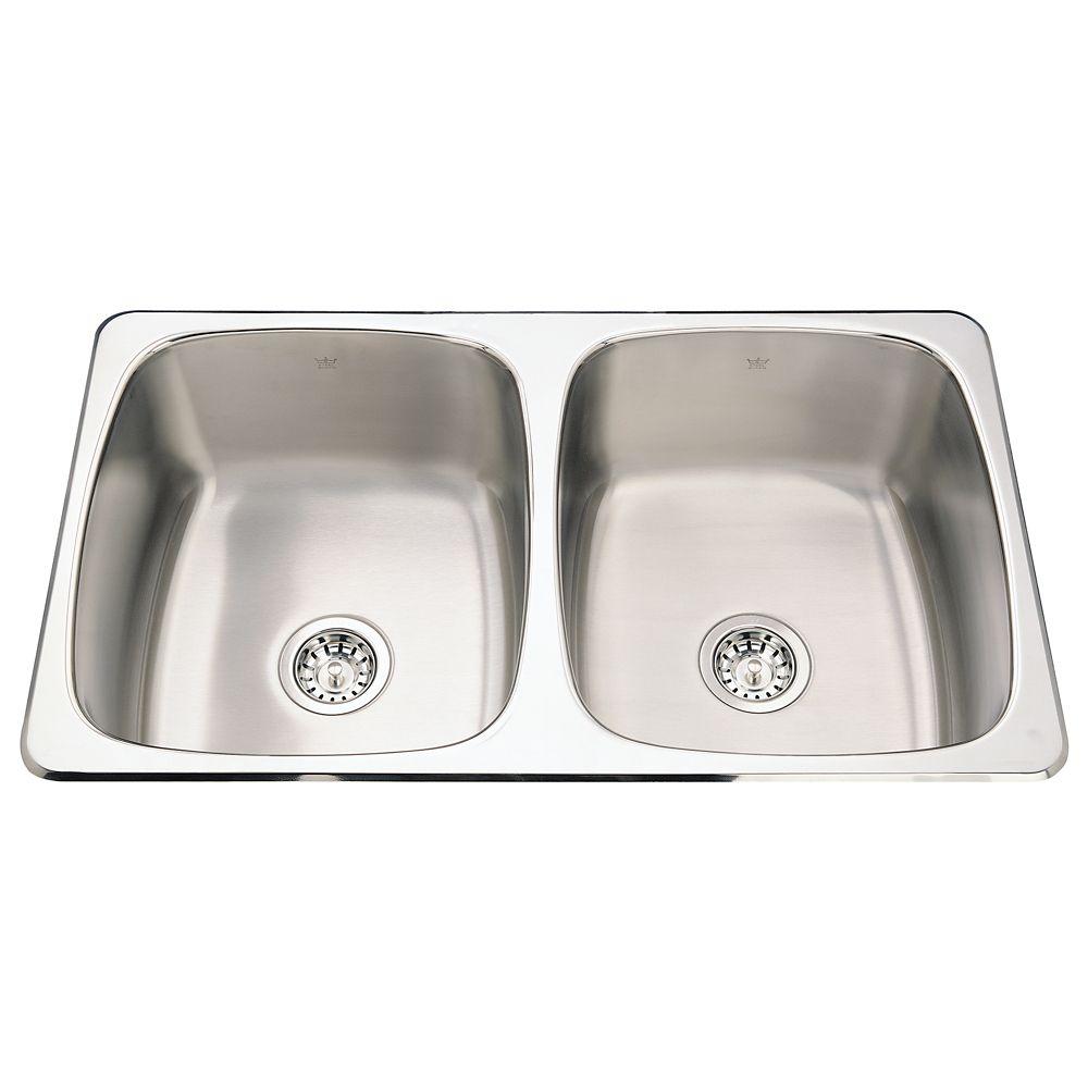 Double sink 20 Ga