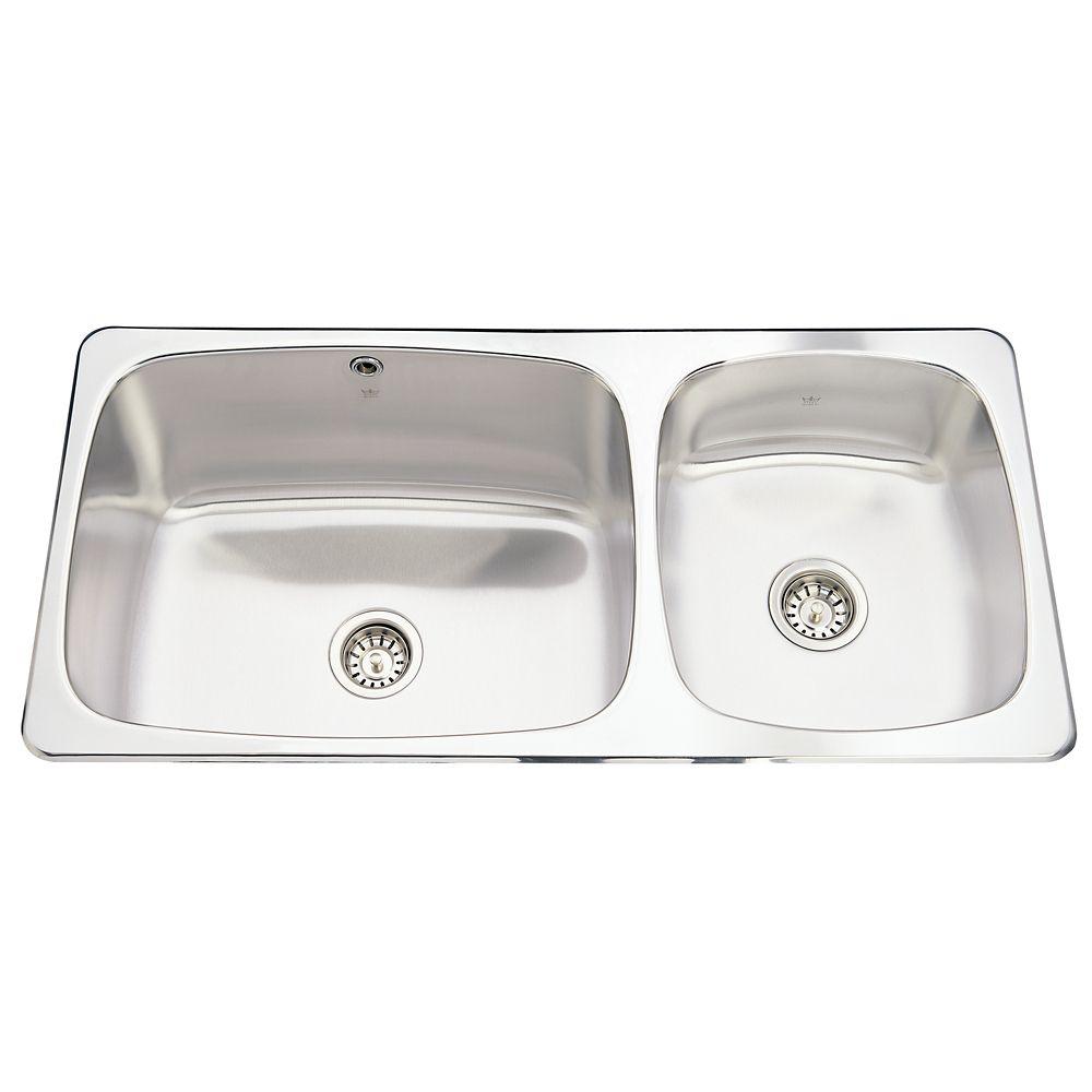 Combination sink 20 Ga