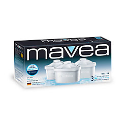Mavea Maxtra Replacement Filter, (3-Pack)